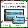 7''2 Din Touch Screen Autoradio+Telecamera TF MP5 Player FM Bluetooth AUX Stereo