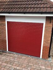 Remote Controlled electric roller Garage Door DIY Uk Made Insulated Remotes