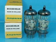 AMPEREX BUGLE BOY 6DJ8 ECC88 VACUUM TUBE 1965 CURVE TRACER MATCH PAIR A00