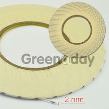 2mm White Glue Double Sided 3M Adhesive Tape Sticker Fix For Mobile Phone Screen