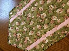 New listing Handcrafted - Quilted Table Runner - Summer is Here- Flowers are Blooming