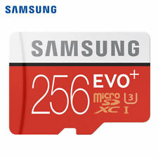 Samsung EVO Plus 256GB Micro SD SDXC TF Memory Card Class 10 100MB/s 4K U3 HD