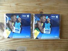 London 2012 Olympics Visa Pin Badge (Blue)