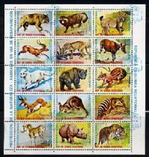 Equatorial Guinea 1974 - Wildlife Protection - Complete Sheet of 15 CTO