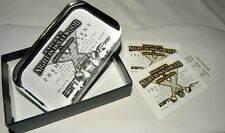 1998 Vintage NASCAR Night In Hollywood GLASS PAPER WEIGHT NEW RARE. W 2 TICKETS