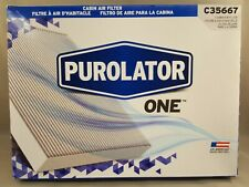 C35667 Purolator ONE Breatheeasy Cabin Air Filter. Free Shipping Toyota
