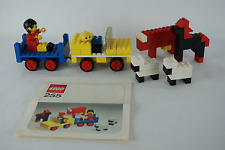 Lego Classic People 255 Farming Scene with instructions no box 1975