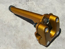 1980's Double Clamp Gold Stem/Quill for BMX and Freestyle Bicycle, 21.1