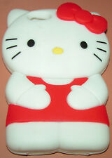 Hello Kitty 3D Heavy duty silicone cartoon case for Apple iPhone 5/5s/SE, NEW