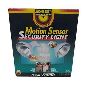 New Heath Zenith 240 Deg Wide Beam SL-5318-WH-A Motion Security Light