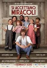 Poster SI ACCETTANO MIRACOLI Cinema Manifesto 100x140cm Prima Ediz.Italia