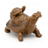 Fish Tank Ornament Ceramic Shrimp Aquarium Decorations Dragon Turtle Decor Hide