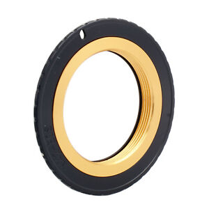 M42-EOS Gold Adjustable Adapter For M42 Lens to Canon EF Mount Dslr Camera