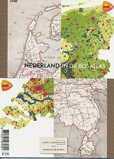 Países Bajos - 2012 Prestige marcas cuaderno MH nº 40 bos schulatlas MH 85 **
