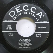 Jazz 45 Leith Stevens' All Stars - Hotshoe / Scramble On Decca
