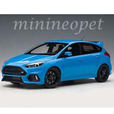 AUTOart 72953 2016 FORD FOCUS RS 1/18 MODEL CAR NITROUS BLUE