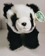 "NEW The Bearington Collection 9"" × 14""  Panda Bear Plush Stuffed Animal"