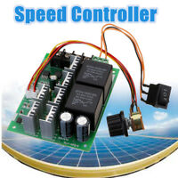 DC 10V~50V 12V 24V 48V 60A PWM Motor Speed Controller CW CCW Reversible Switch