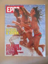 EPOCA n°1552 1980 Siena uomini che contano - Stefania Sandrelli   [C37]