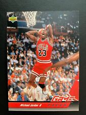 1992-93 Upper Deck Basketball Game Faces #488 Michael Jordan Chicago Bulls Mint!