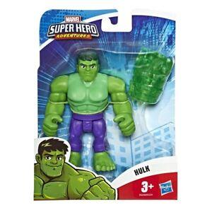 Marvel Super Hero Adventures The Hulk - Playskool Heroes Action Figure Hasbro