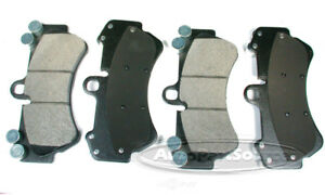 Disc Brake Pad Set-Semi-metallic Pads Front Autopartsource MF1007