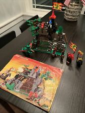 Vintage Lego System 6076 Dark Dragon's Den 99.5% Complete w/ Manual & Minifigs!