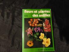 fleurs et plantes des antilles-jacques fournet