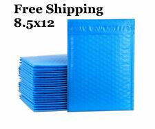 1 300 2 85x12 Blue Color Poly Bubble Mailers Fast Shipping