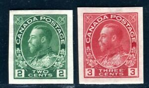 CANADA 1922 106-107B * UNGEZÄHNT (D9999