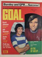 Goal Magazine #241 : April 1973 : Vintage Football Magazine