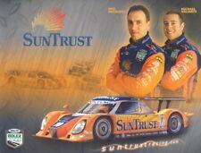 2008 Suntrust Racing Pontiac Daytona Prototype Grand Am postcard