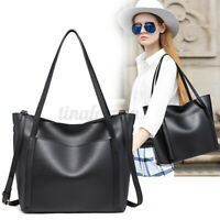 Women Leather Handbag Lady Shoulder Bag Crossbody Tote Shopper Satchel   ~