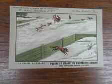 CPA CPSM CARTE POSTALE PUBLICITAIRE CIGARETTES POUDRES ABYSSINIE EXIBARD 1935
