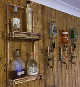 CopperShop Pipe Shelf Bar Man Cave