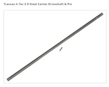 TRA8349 Traxxas 4-Tec 2.0 Steel Center Driveshaft & Pin Ford GT Mustang VXL
