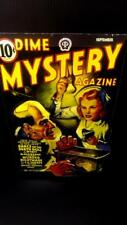 Dime Mystery Magazine Comics Sept Cover in 3-D large 11x17
