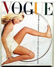Vogue Italia n. 468 aprile 1989 april Carla Sozzani Herb Ritts Carlo Mollino