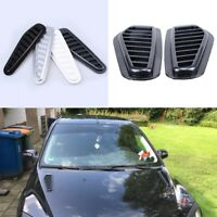 Air Flow Intake Scoop Turbo Bonnet Vent Cover Hood Decoration Exterior for Car