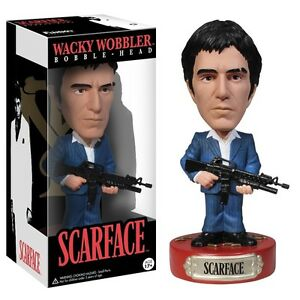 Scarface Tony Montana Al Pacino Bobble Head Wackelkopf Figur Funko