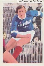 N°238 SERGE DELLAMORE # CS.SEDAN STICKER AGEDUCATIF FOOTBALL MATCH 1973