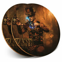 2 x Coasters - Steampunk Magician Magic Home Gift #14534