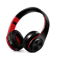 Casque audio Bluetooth stéréo sans fil pliable universel iPhone Samsung
