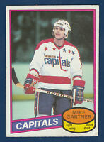 MIKE GARTNER RC 80-81 O-PEE-CHEE 1980-81 NO 195 EX 2