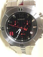 Renato Wilde Beast Black Carbon Fiber Swiss Quartz Sapphire Crystal Watch