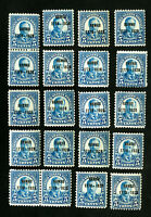 US Stamps # 648 F-VF Lot of 20 OG NH Scott Value $430.00