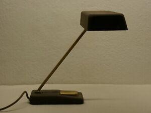 Tischlampe Schreibtischlampe von Hillebrand zweiflammig E14 60er 70er vintage