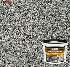 Buntsteinputz Mosaikputz BP20 (grau, weiss, schwarz) 15kg Absolute ProfiQualität
