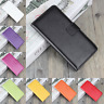 Genuine Leather Flip Stand Case Wallet Cover For Microsoft / NOKIA Lumia Models