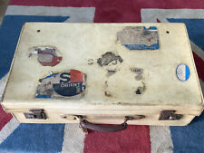 More details for rare vintage cunard white star line suitcase labels queen mary and elizabeth